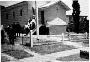 Ukrainian Baptist Church in Queensland (1970). Source: Queensland Baptist Archives